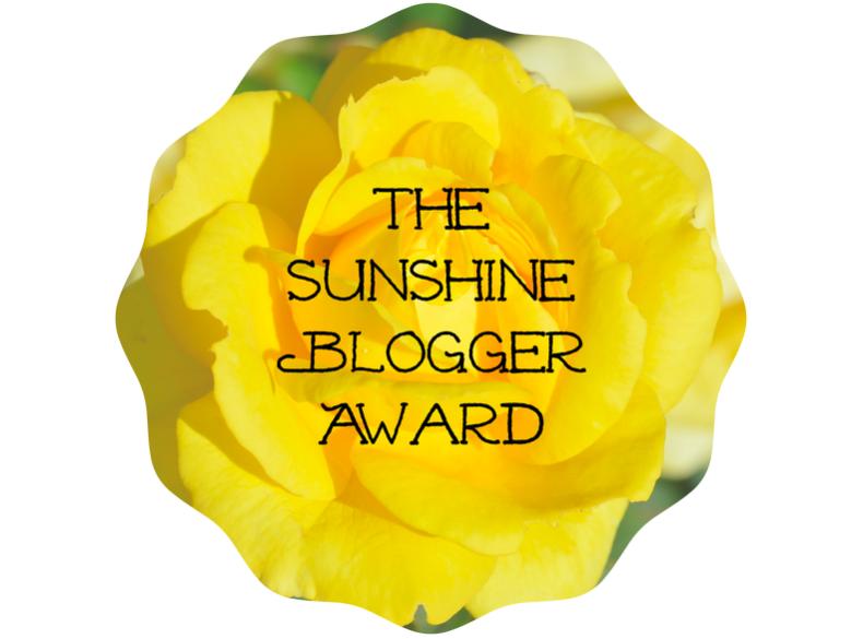 The Sunshine Blogger Award2