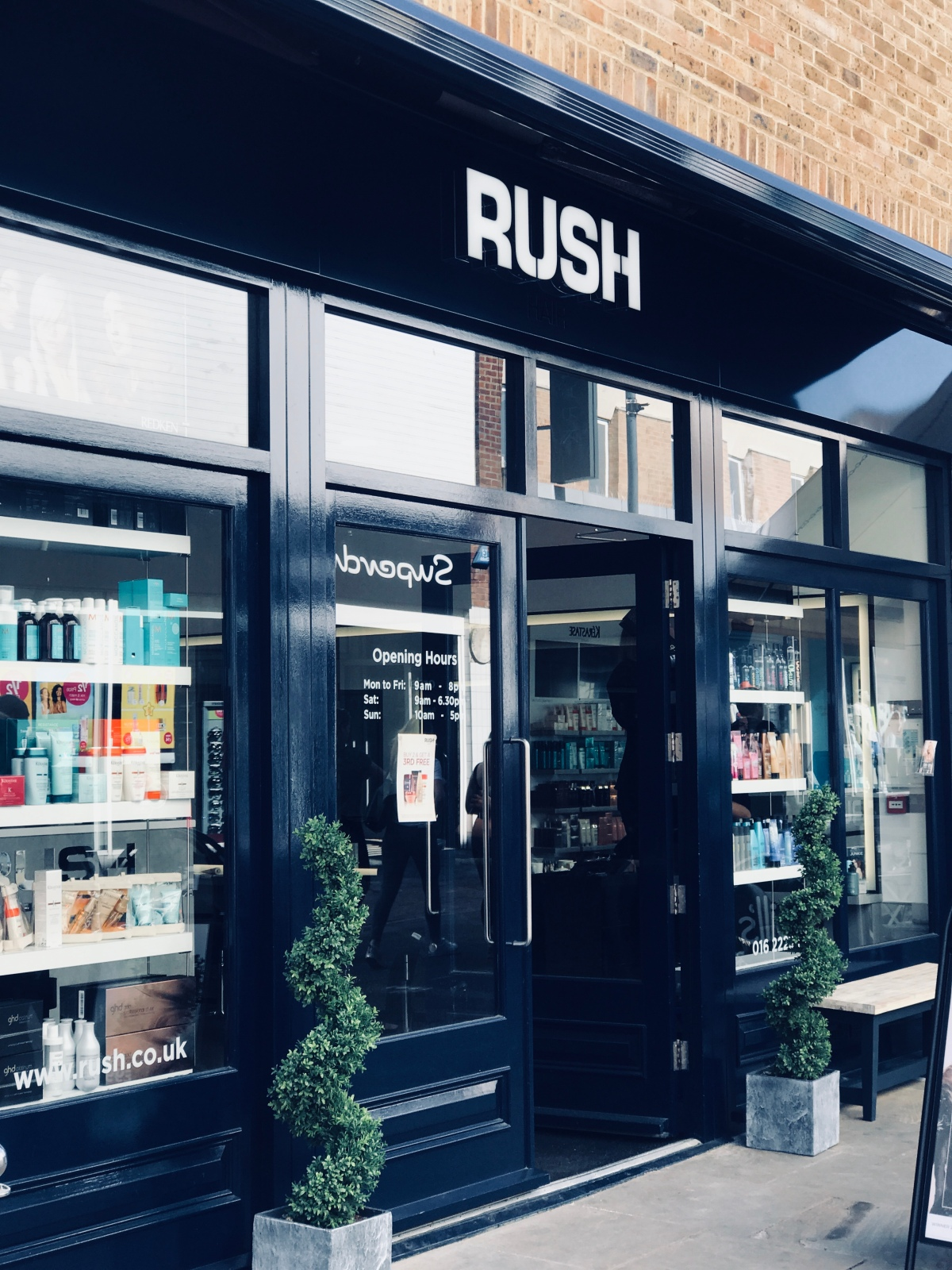 RUSH salon experience